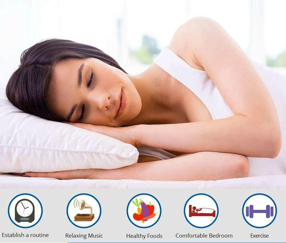Sleeping habits causing sleeping difficulties