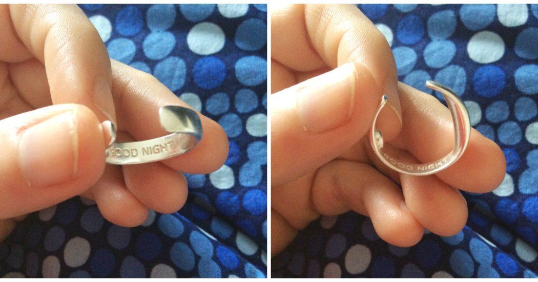 The Anti Snore Acupressure ring