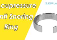 acupressure anti snoring ring