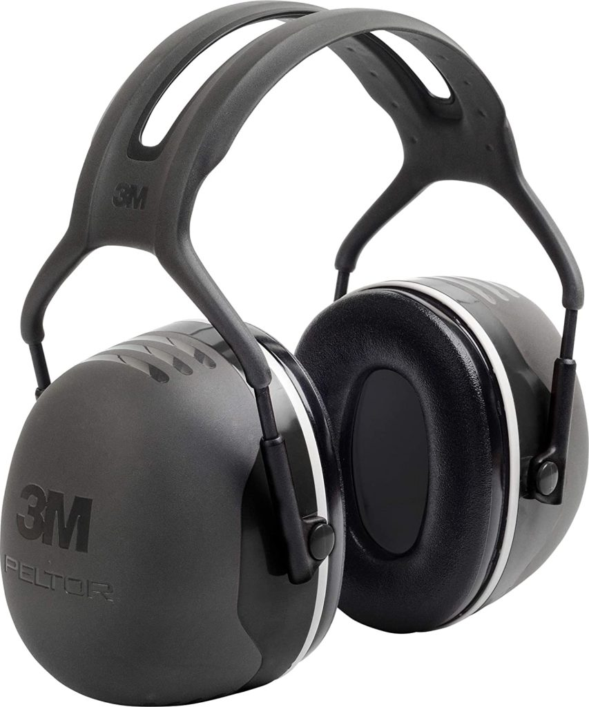 3M PELTOR X5A Noise Cancelling Ear Muffs for Sleeping