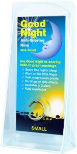 The Goodnight Anti-snoring ring