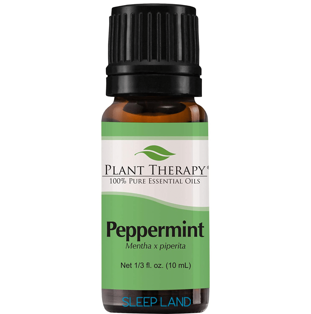 Peppermint essential oil for snoring and sleep apnea