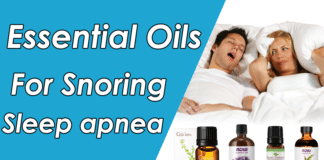 best Essential Oils for snoring & sleep apnea