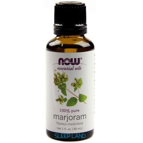 marjoram essential oil for snoring ans sleep apnea
