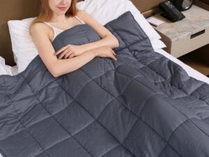 Zonli breathable weighted blanket