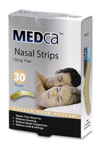 MEDca Adult Tan Nasal Strips for snoring