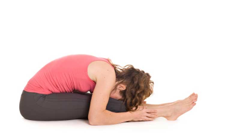 seated forward bend for sleep apnea