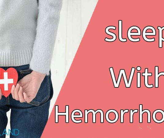 sleep with hemorrhoids