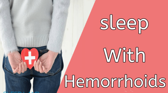 sleep with hemorrhoids