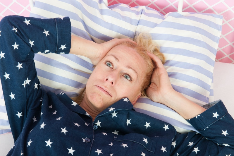 connection between menopause and insomnia
