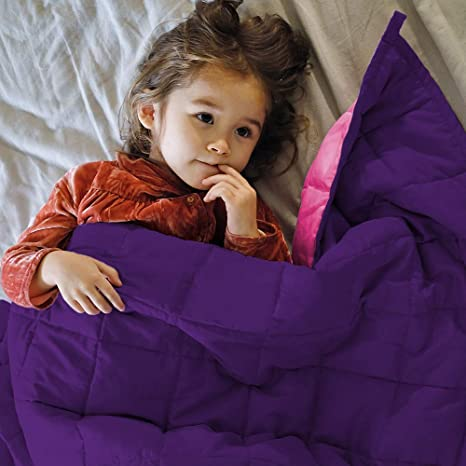 ZonLi Kids Cooling Weighted Blanket