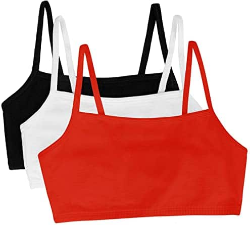 Fruit of the Loom Lady's Cotton Pullover Sports Bra