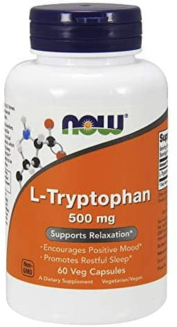 NOW Supplements L-Tryptophan