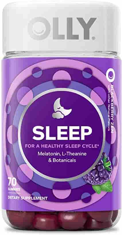 Olly Sleep Gummy improve sleep