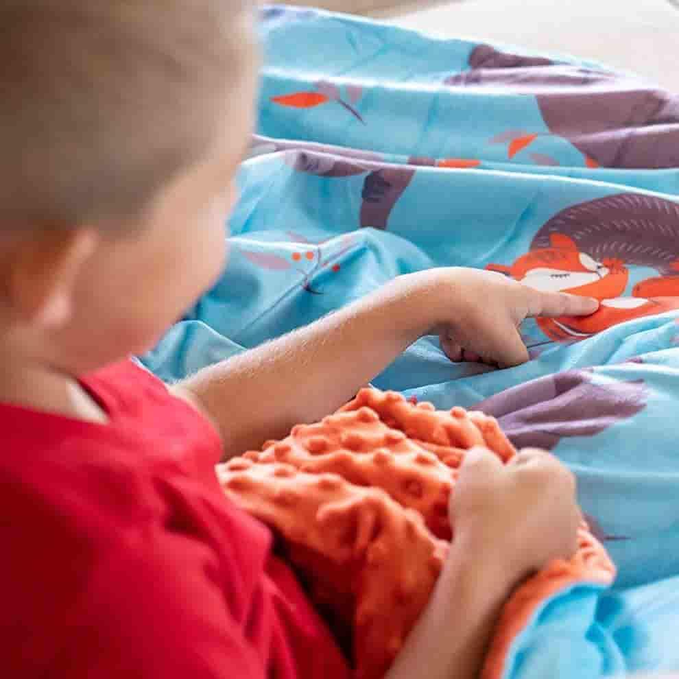 Sweetzer & Orange Weighted Blanket for Kids