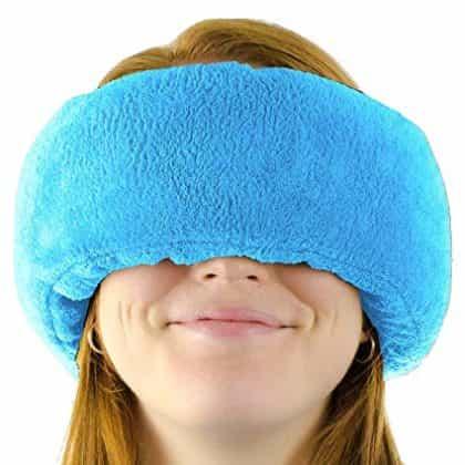 Wrap a nap sleep earmuff and mask