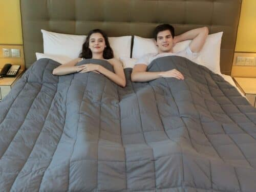 YNM Weighted Blanket for restless legs