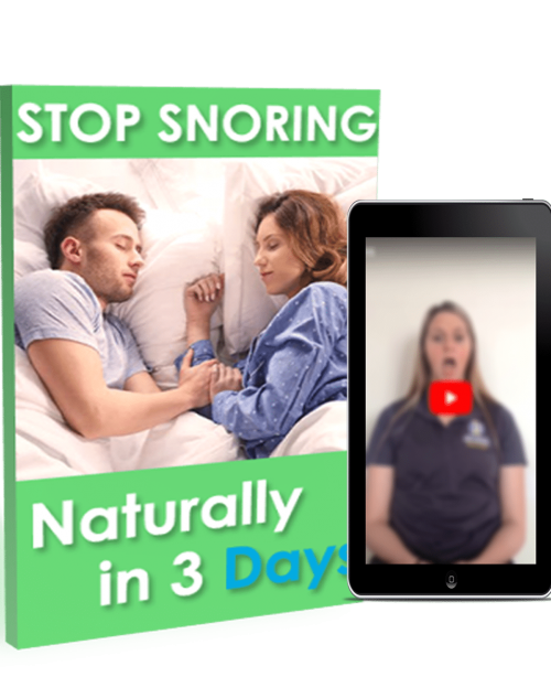 Stop Snoring ebook and training